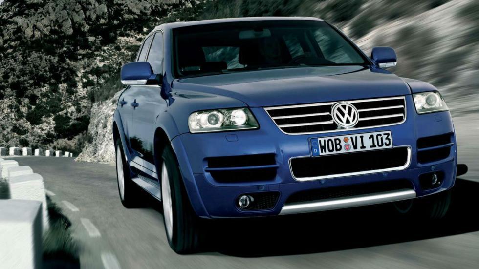 5 coches que pesan más de 2.000 kilos Volkswagen Touareg