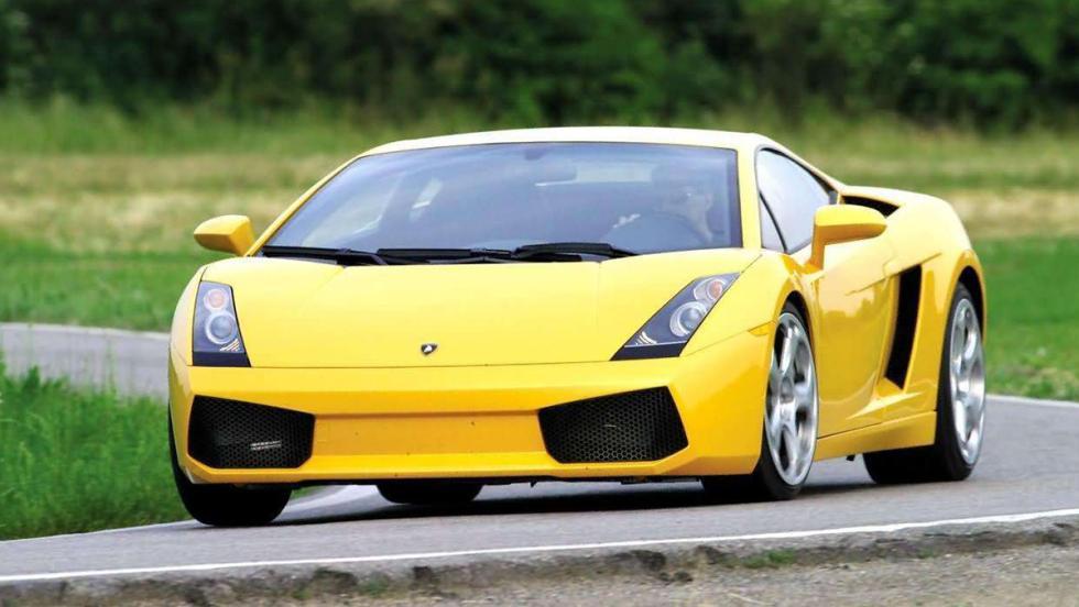 5 deportivos más lentos que el Stelvio QV en Nürburgring - Lamborghini Gallardo