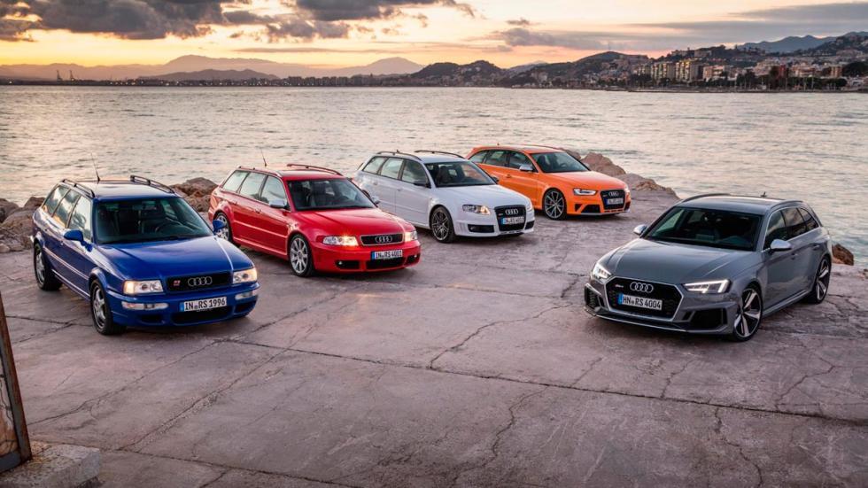Audi RS4 historia generaciones avant deportivo