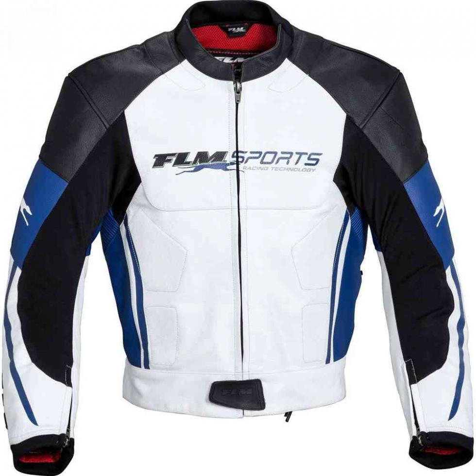 Chaqueta de moto FLM Sports Leather