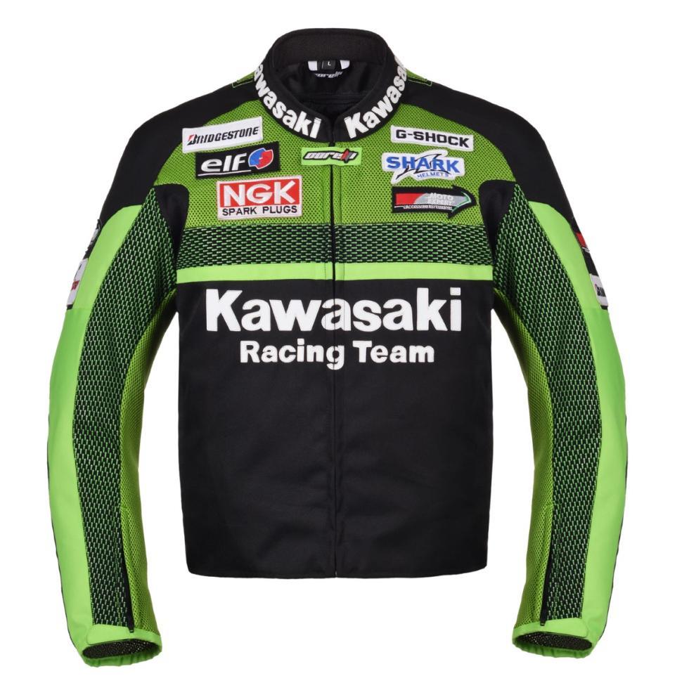 Chaqueta de moto Kawasaki Racing Team