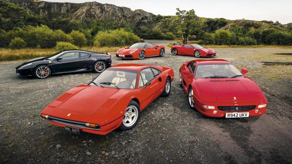Mejor Berlinetta V8 Ferrari lujo deportivo