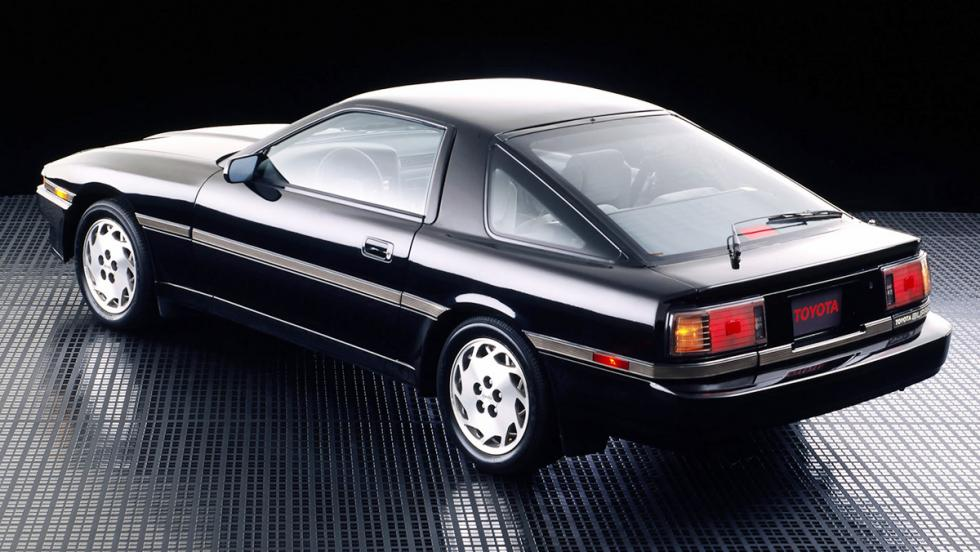 El origen del Toyota Supra - Toyota Supra (1986)
