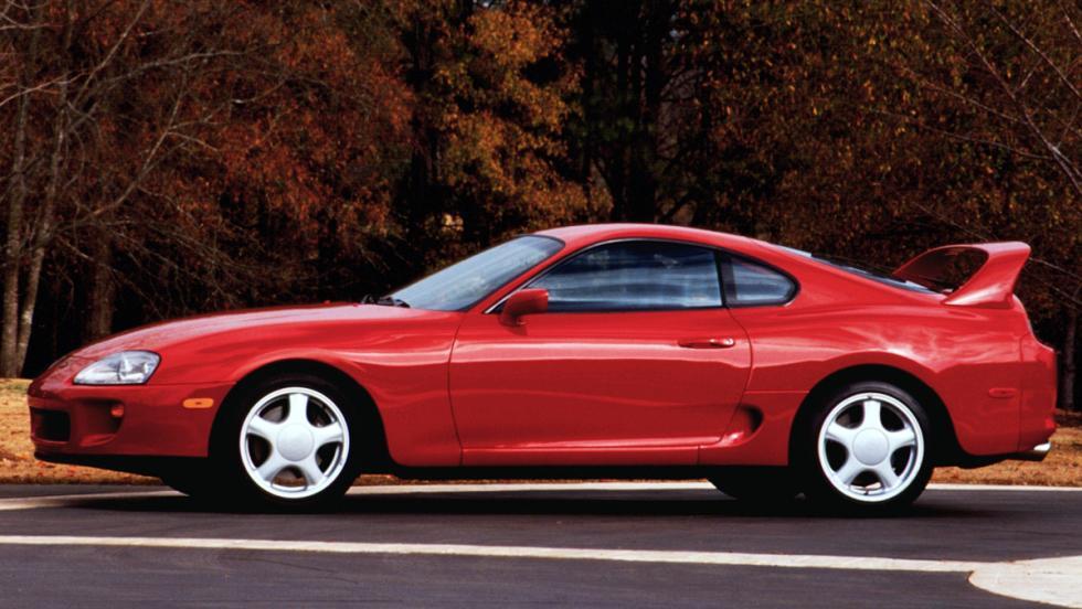 El origen del Toyota Supra - Toyota Supra (1993)