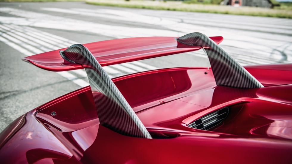 Prueba Koenigsegg Regera (alerón)