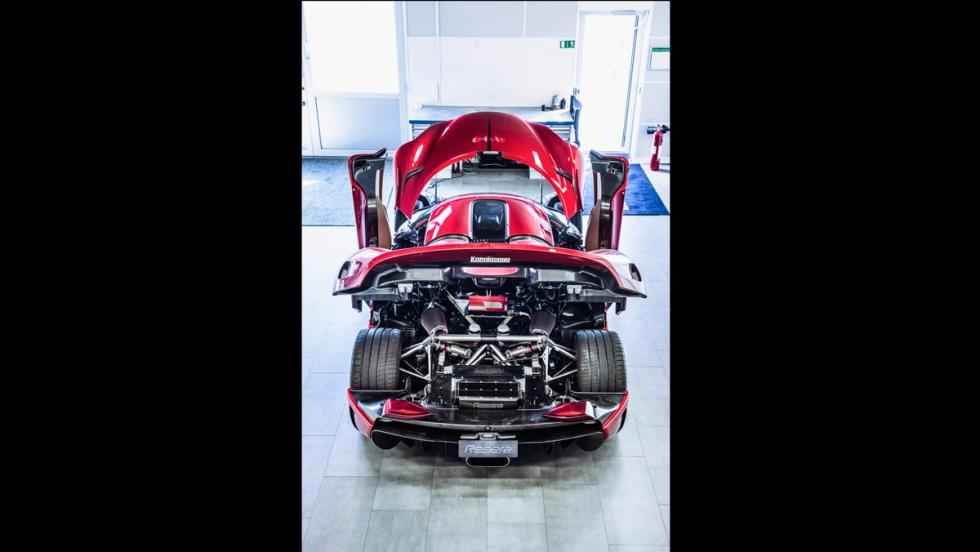 Prueba Koenigsegg Regera (motor)