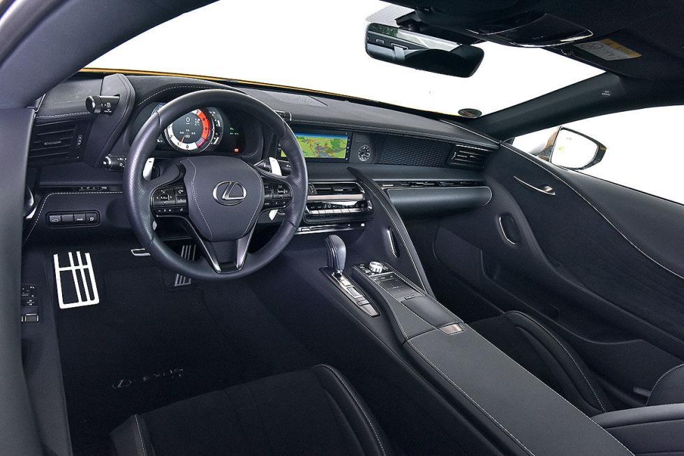 Prueba del Lexus LC 500