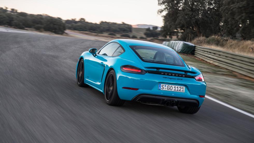 Prueba Porsche 718 Cayman GTS (curva 2)