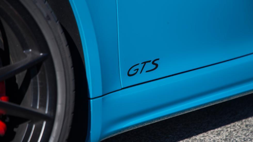 Prueba Porsche 718 Cayman GTS (emblema)