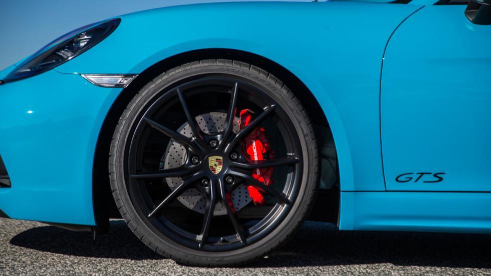 Prueba Porsche 718 Cayman GTS (rueda)