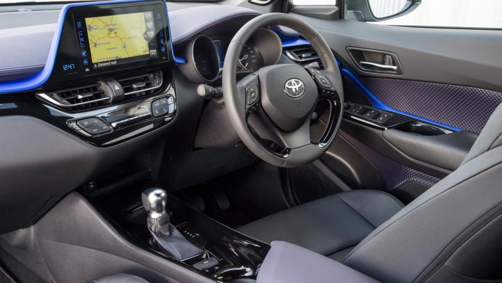 Prueba Toyota C-HR (interior)