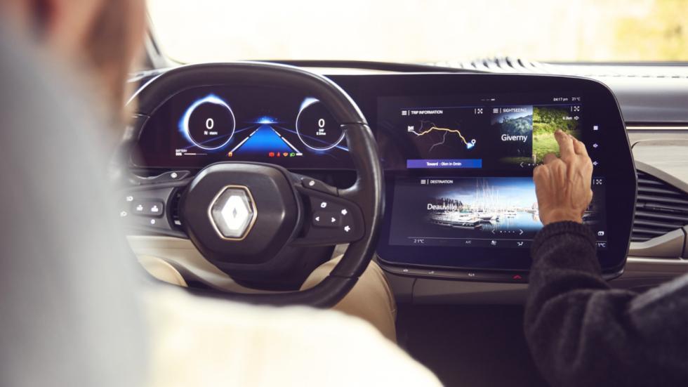 Renault Symbioz: pantallas centrales