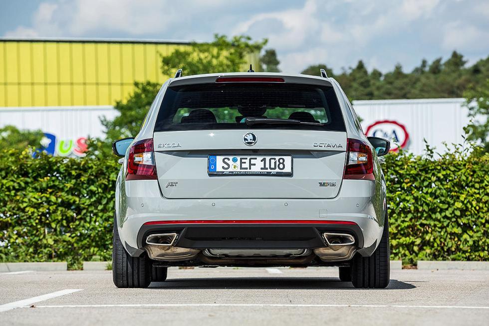 Al volante: Abt Octavia Combi RS TSI