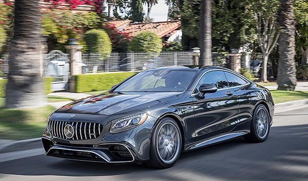 Al volante del Mercedes-AMG S 63 (2018)
