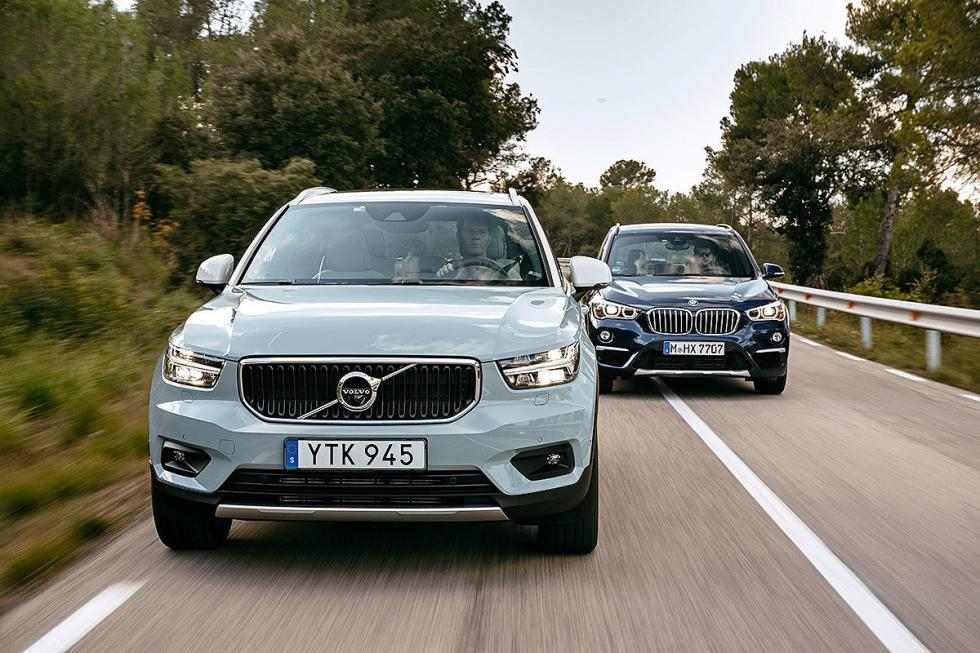 Volvo XC40 vs BMW X1.