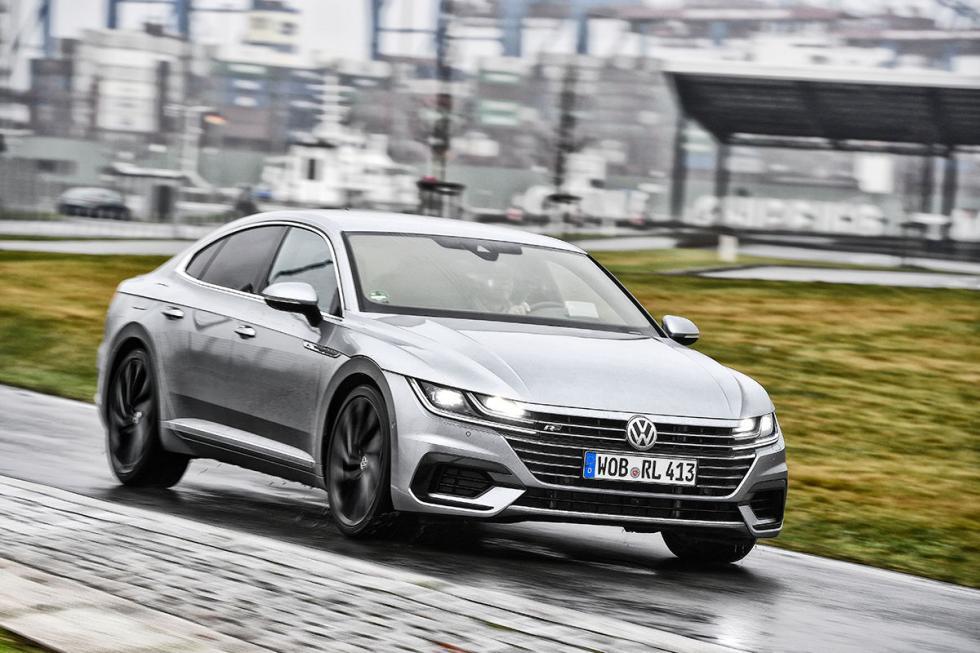 Comparativa: Volkswagen Arteon y el Skoda Superb