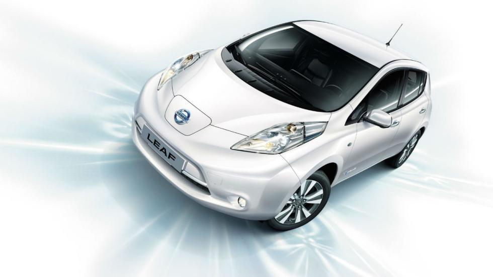 Los eléctricos más vendidos en 2017: Nissan Leaf - 534 unidades