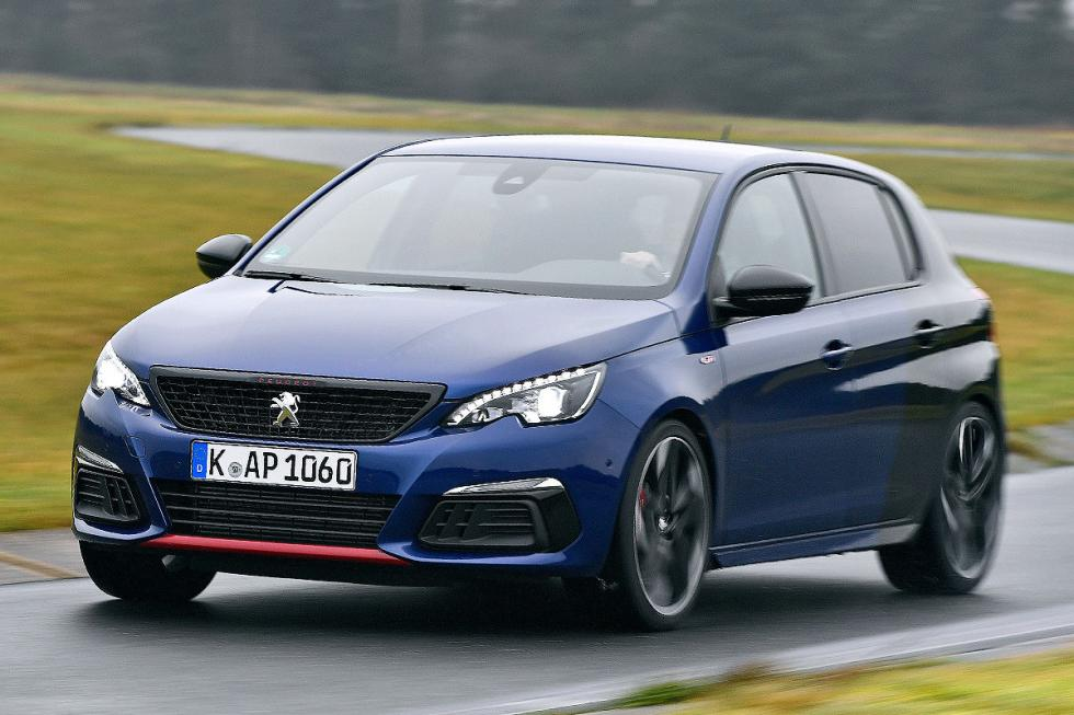 eugeot 308 GTi vs Hyundai i30 N Performance