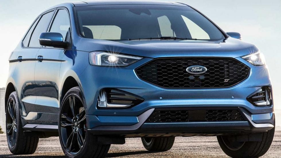 Frontal Ford Edge ST