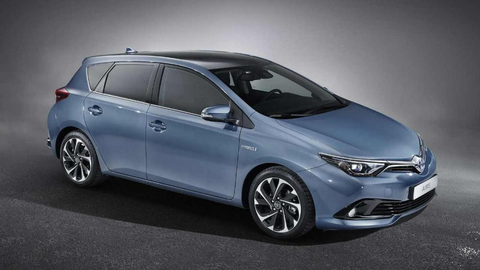 Los híbridos más vendidos en 2017: Toyota Auris - 12.443 unidades