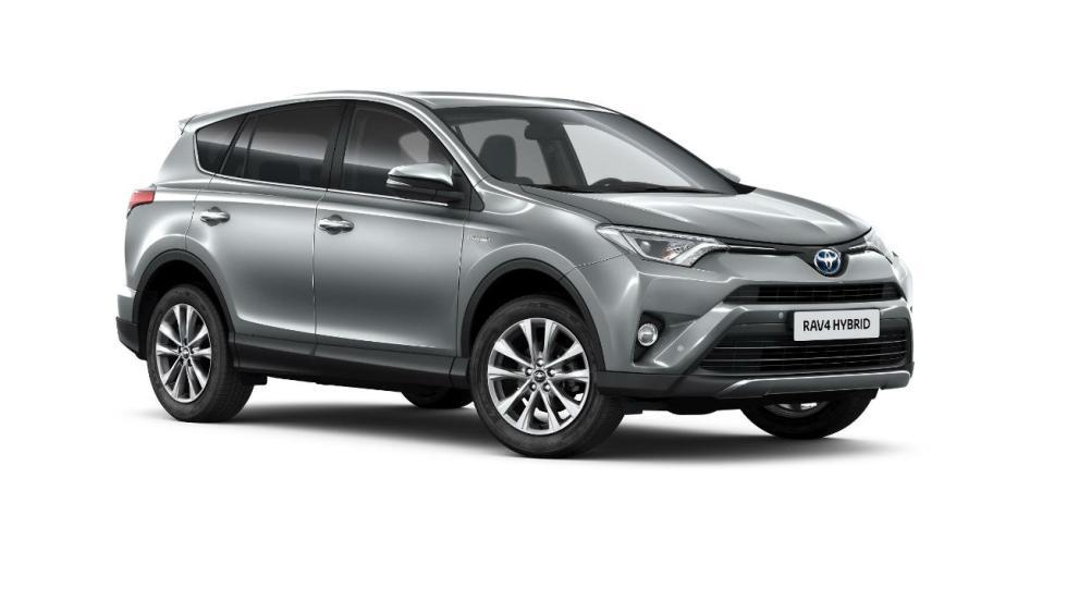 Los híbridos más vendidos en 2017: Toyota RAV4 - 8.053 unidades