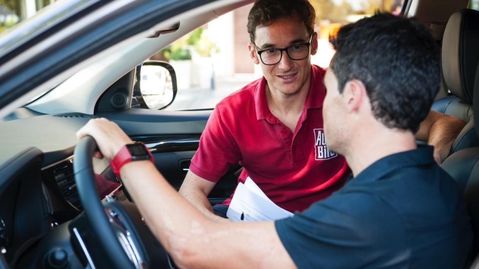 Javier Gómez Noya entrevista con Mitsubishi