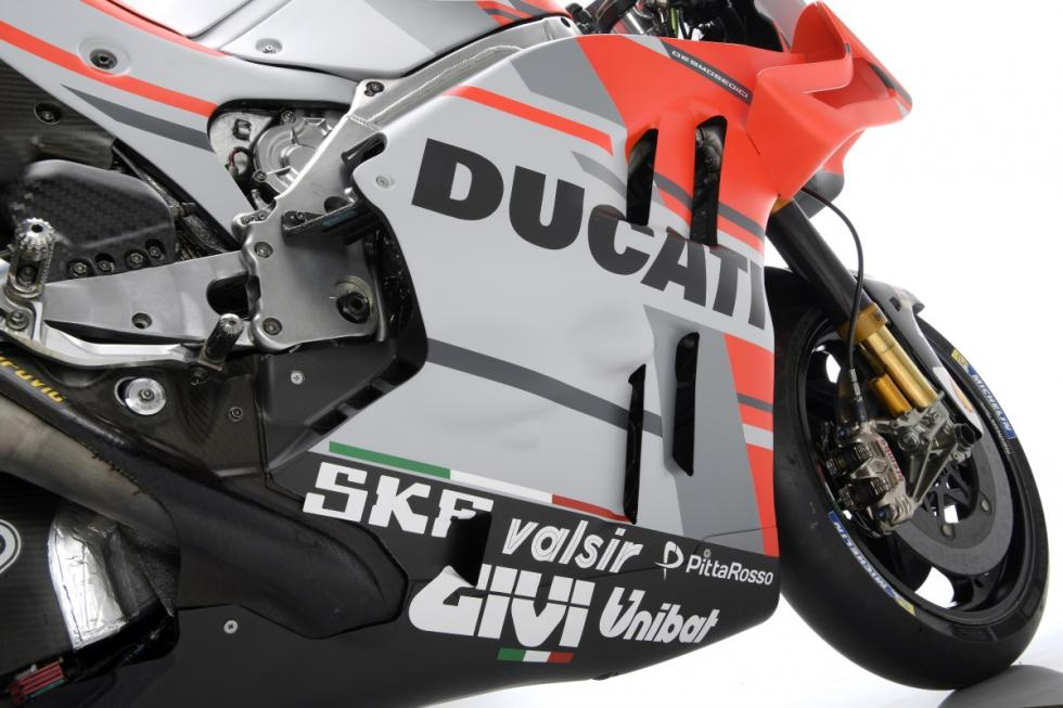 Presentación Ducati MotoGP 2018