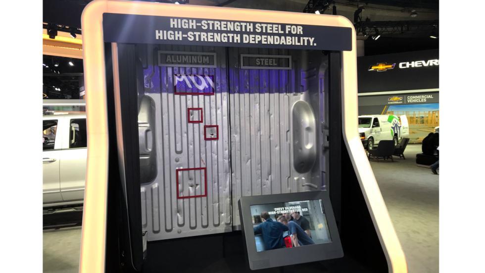 Salón de Detroit 2018: acero vs aluminio