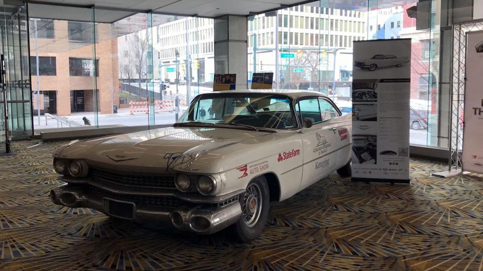 Salón de Detroit 2018: ambiente