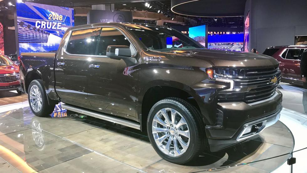 Salón de Detroit 2018: Chevrolet Silverado