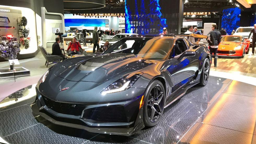 Salón de Detroit 2018: Corvette motor central