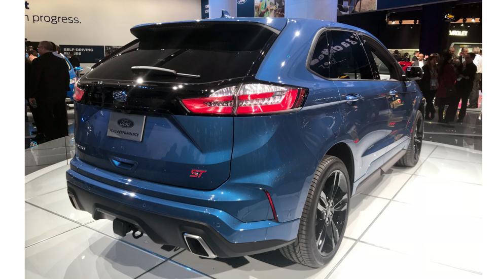 Salón de Detroit 2018: Ford Edge ST trasera