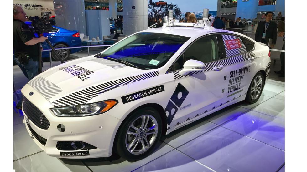Salón de Detroit 2018: Ford Fusion autopilotado