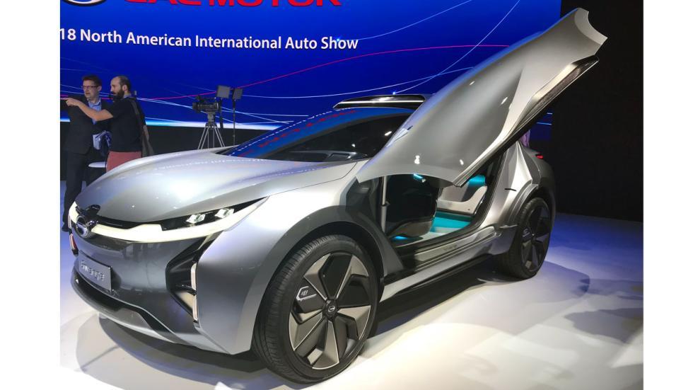 Salón de Detroit 2018: GAC Enverge concept delantera