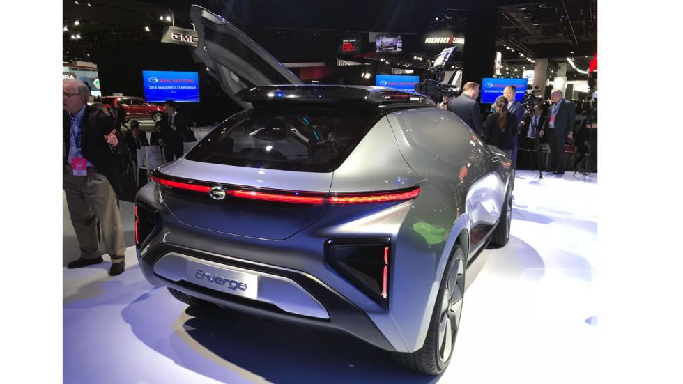 Salón de Detroit 2018: GAC Enverge concept trasera