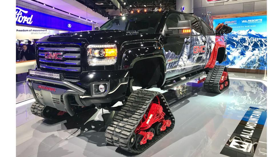 Salón de Detroit 2018: GMC Sierra delantera