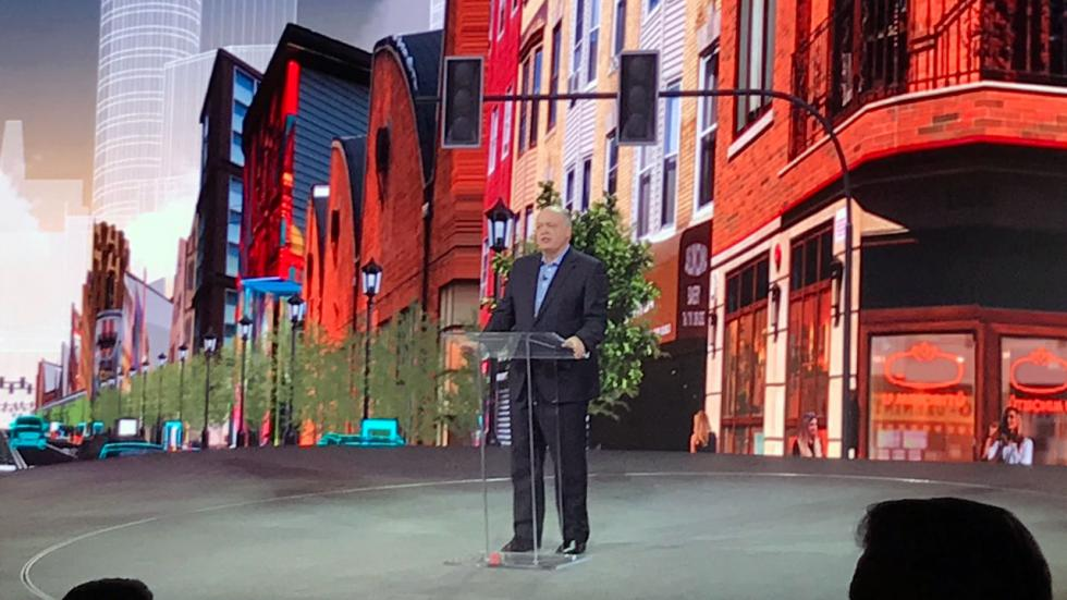 Salón de Detroit 2018: Jim Hacket, CEO de Ford
