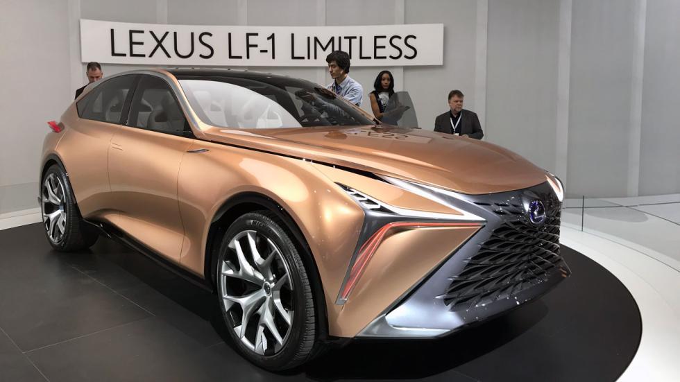 Salón de Detroit 2018: Lexus LF1 Limitless concept delantera