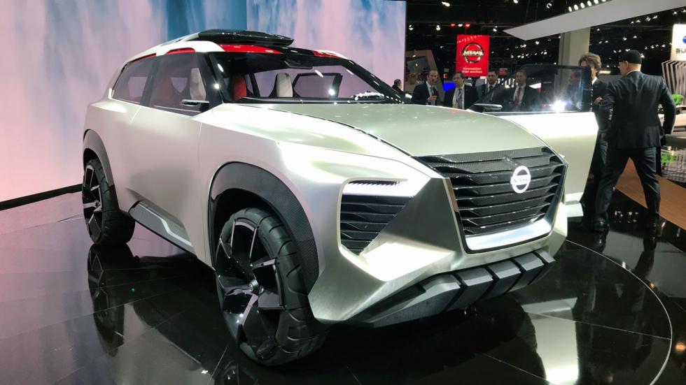 Salón de Detroit 2018: Nissan X motion concept delantera