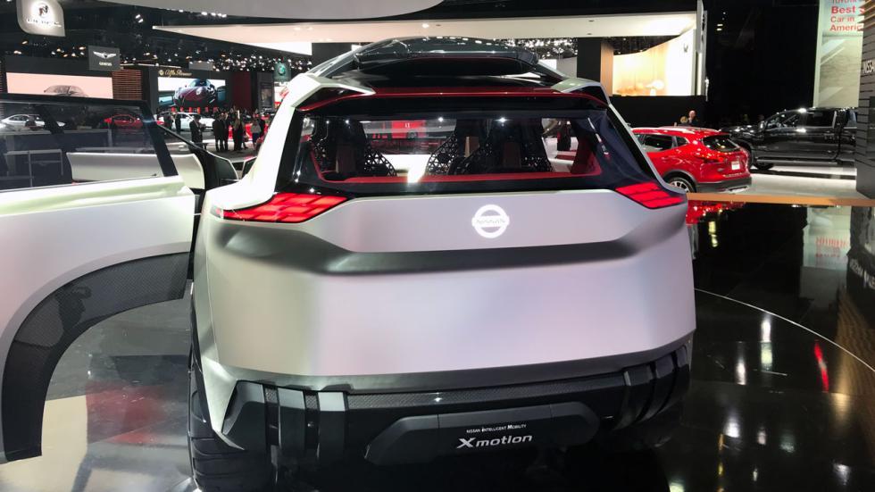 Salón de Detroit 2018: Nissan X motion concept trasera