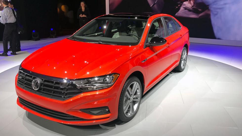 Salón de Detroit 2018: nuevo Volkswagen Jetta delantera