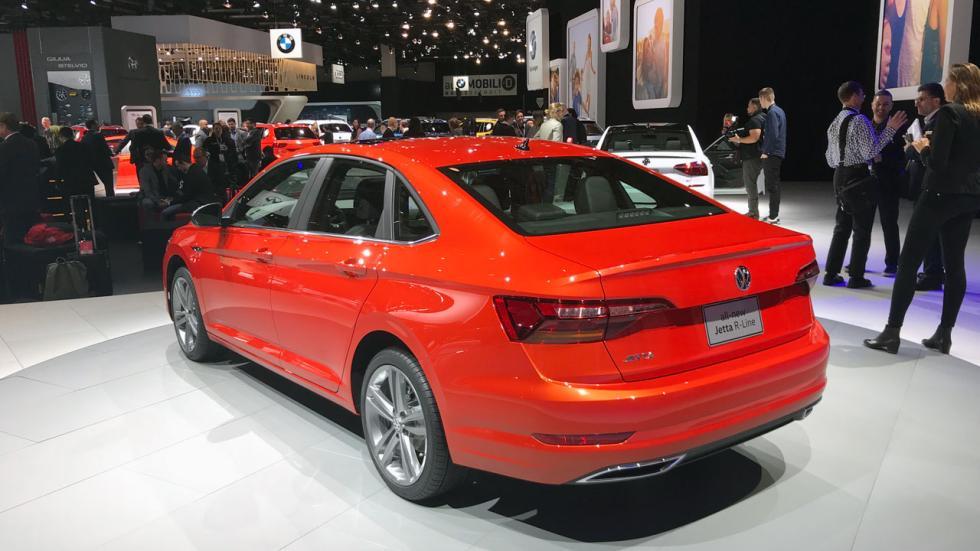 Salón de Detroit 2018: nuevo Volkswagen Jetta trasera