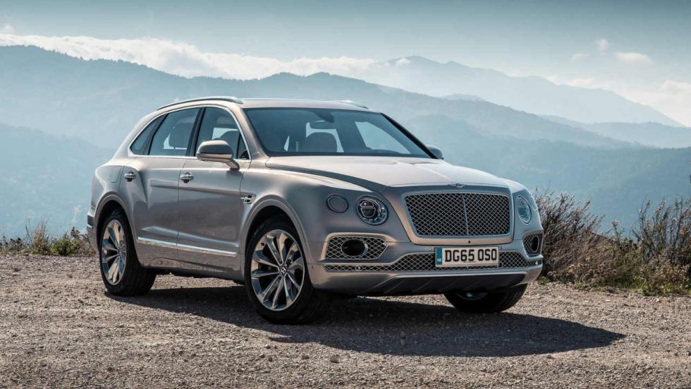 Los SUV que más consumen Bentley Bentayga W12