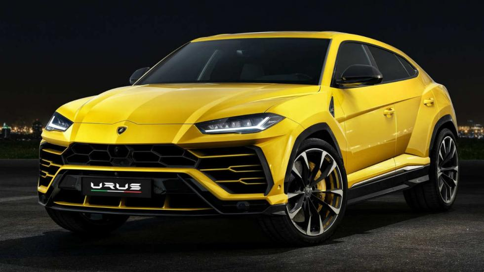 Los SUV que más consumen Lamborghini Urus