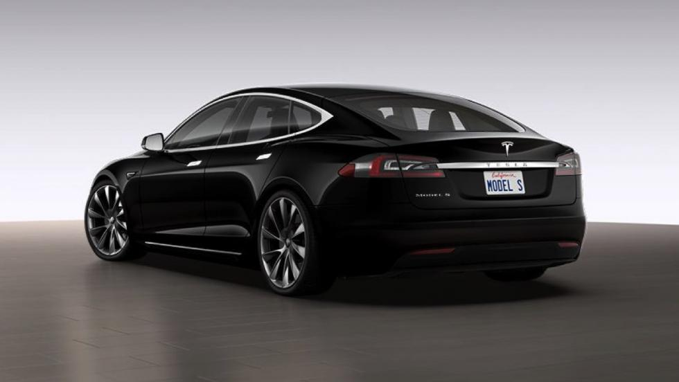 Tesla Model S - llantas Sonic Carbon Twin Turbine