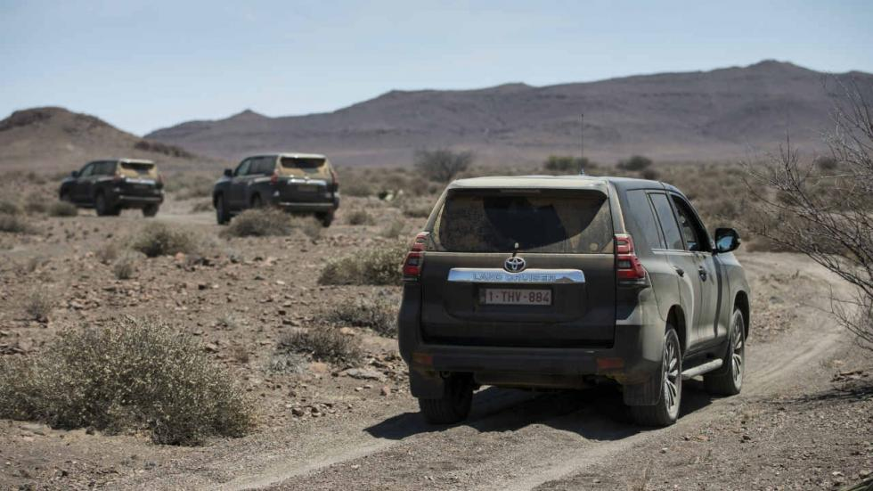 Toyota Land Cruiser en Namibia