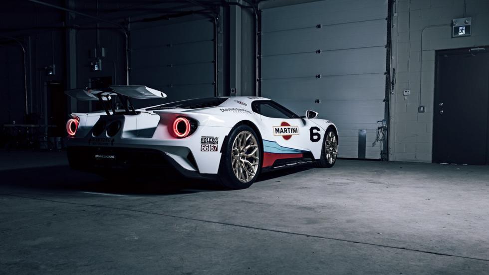 Ford GT con decoración Martini Racing