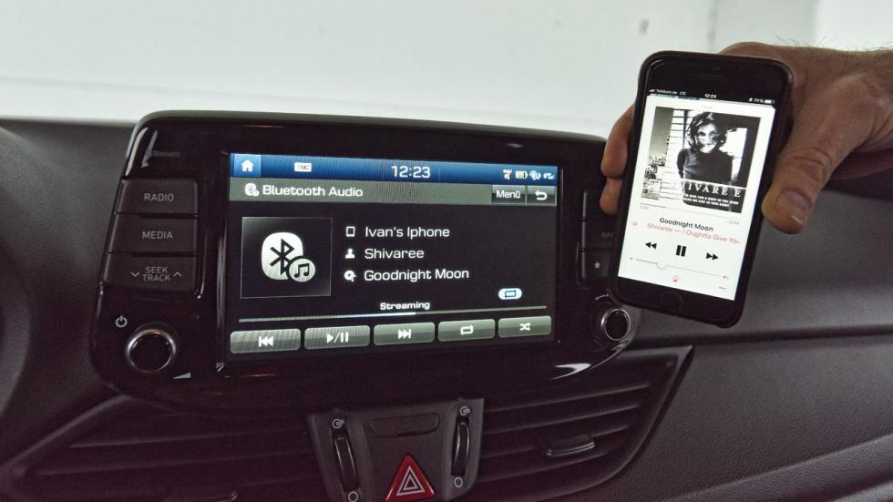 Hyundai i30 N Performance navegador