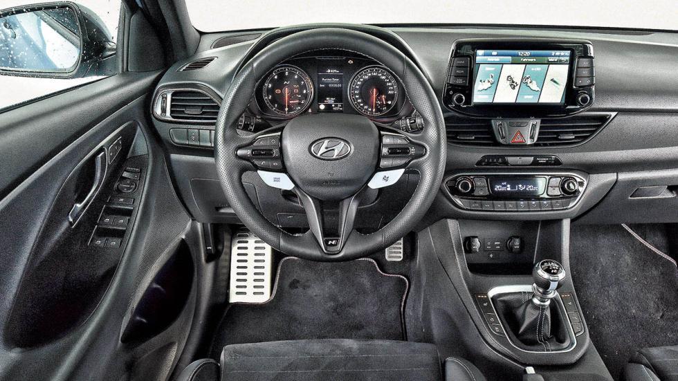 Hyundai i30 N Performance salpicadero