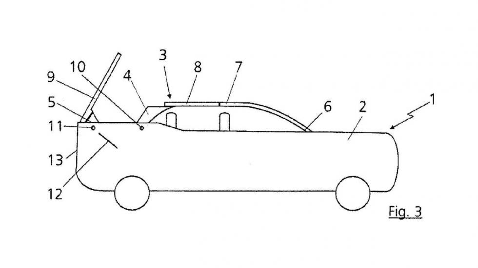 Patente Audi SUV descapotable